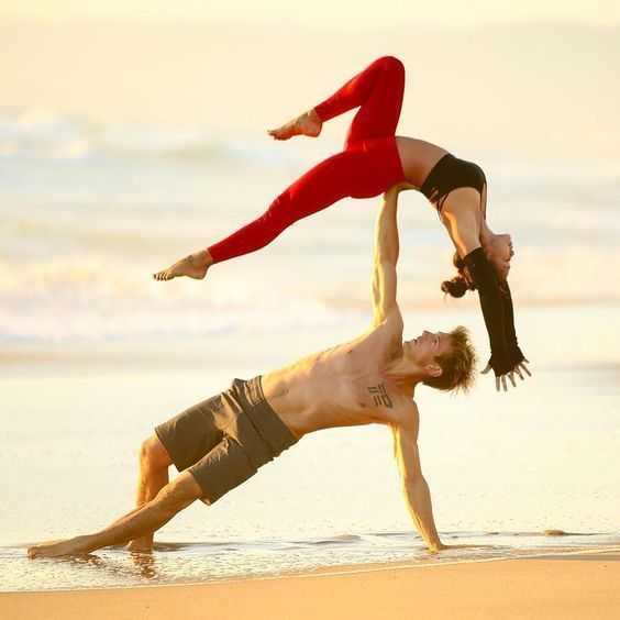 Looking for one of the top couple yoga poses to keep you and your partner on good terms