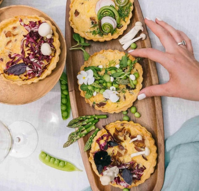 Mini Quiches for Your Lunch