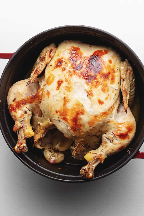 Butter Dutch Oven Chicken