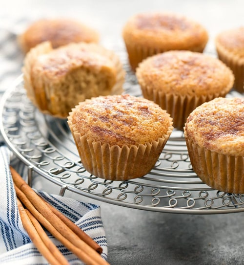 Keto Snicker doodle Muffins