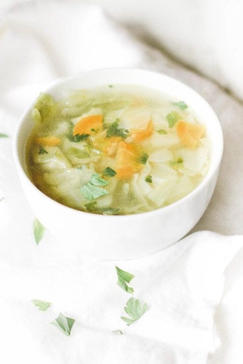 Fat Burning Cabbage Soup